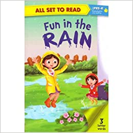 All set to Read: Level Pre-K: Fun in the Rain (3 Letter Words)