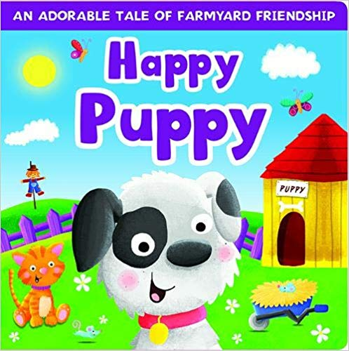 Boardbook: Happy Puppy