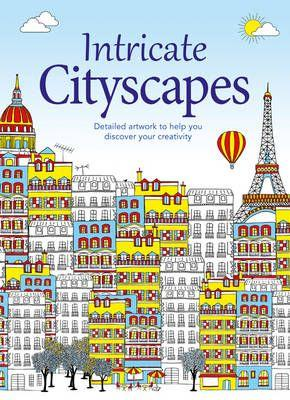 Colouring Books: Intricate Cityscapes