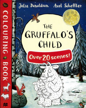 Julia Donaldson Colouring Book: Gruffalo's Child