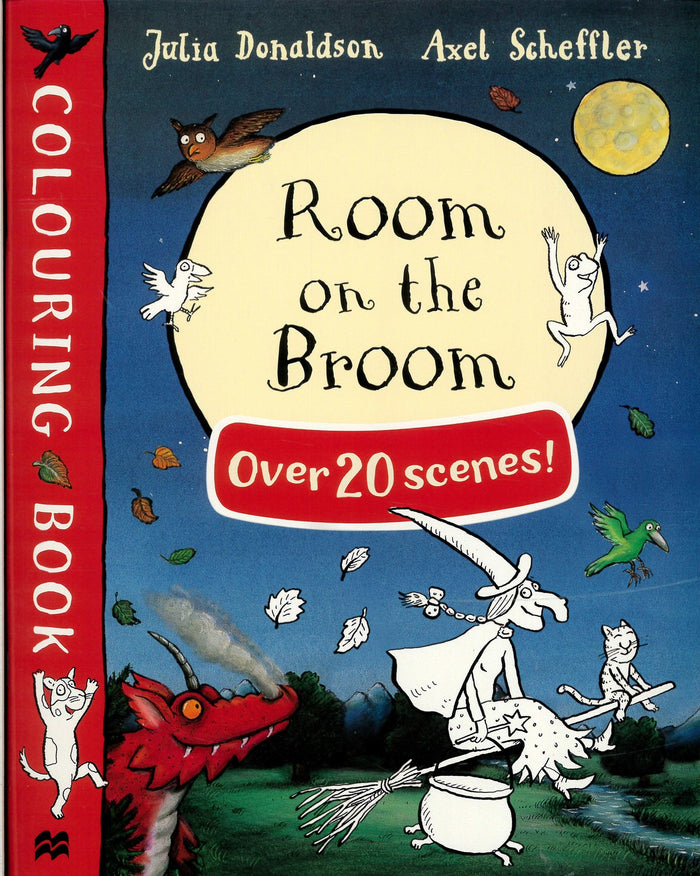 Julia Donaldson Colouring Book: Room on the Broom