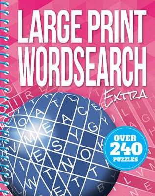 Large Print Wordsearch Extra