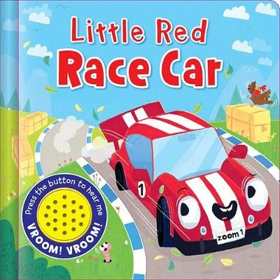 Sound Book: Little Red Race Car