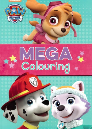 PAW Patrol: Mega Colouring