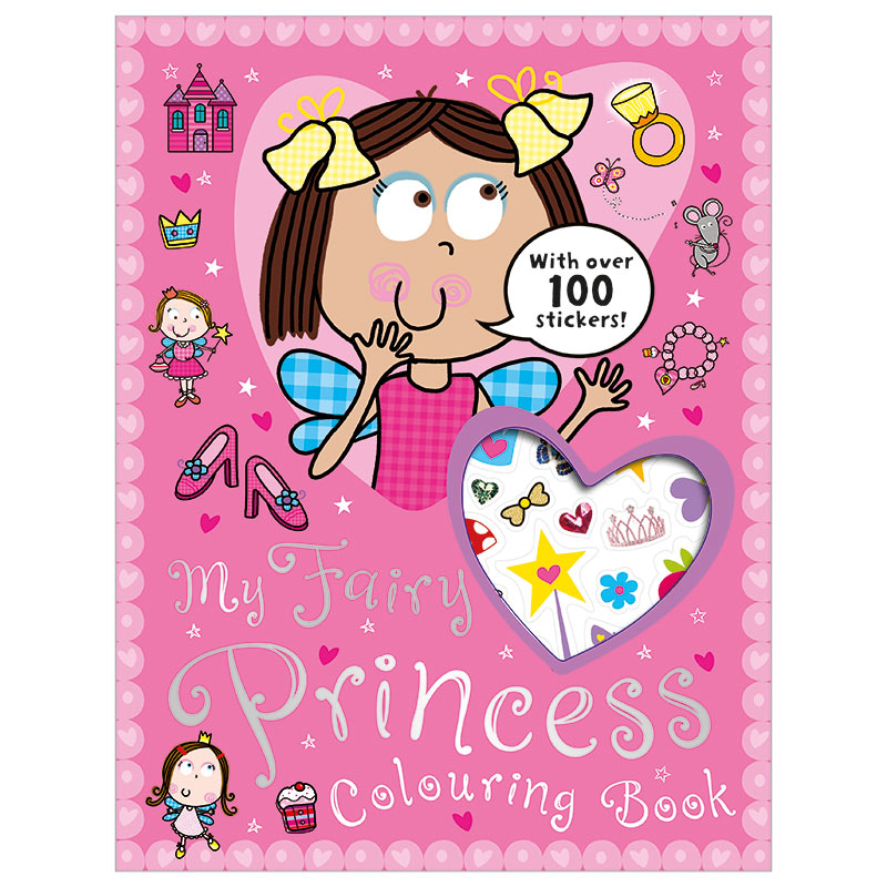 My Fairy Princess Colouring Book
