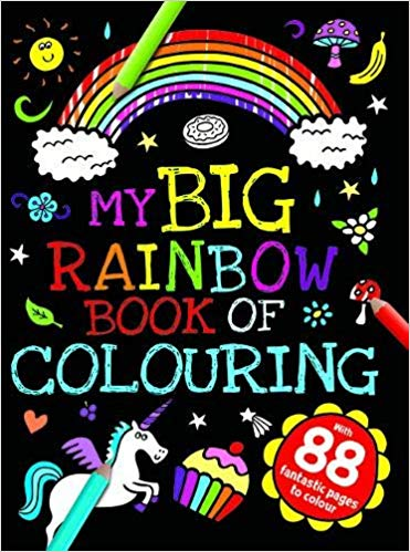 My Big Rainbow book of Colouring