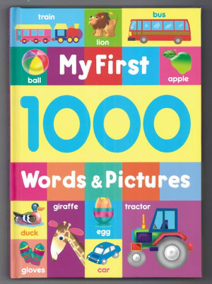 My First 1000 Words & Pictures
