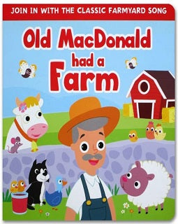 Old MacDonald had a Farm Boardbook
