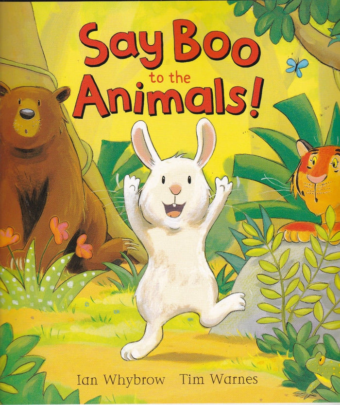 Say Boo to the Animals! (Picture flat)