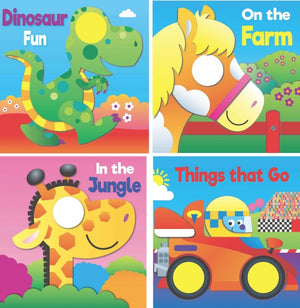 Dinosaur Fun - See through the Spiral Board Book