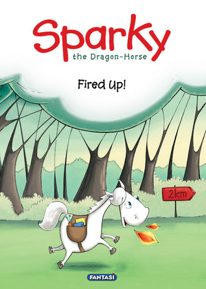 Sparky The Dragon Horse Fired Up