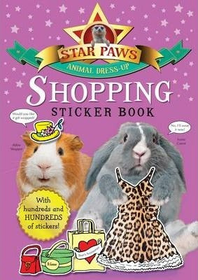 Star Paws: Animal Dress-up - Shopping sticker book