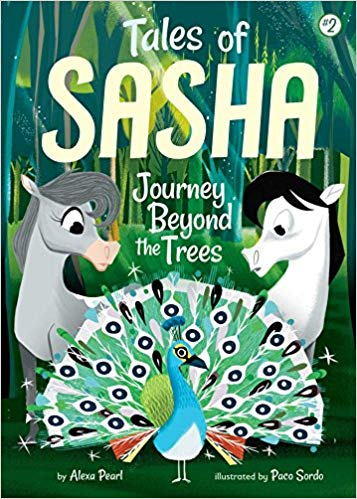 Tales of Sasha - Journey beyond the trees - Book 2