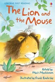 Lion and the Mouse, The: Usborne first reader