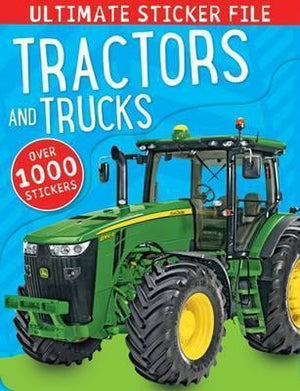 Tractors & Trucks: Ultimate Sticker File