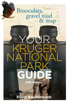Your Kruger National Park Guide: Binoculars, Gravel Road & Map