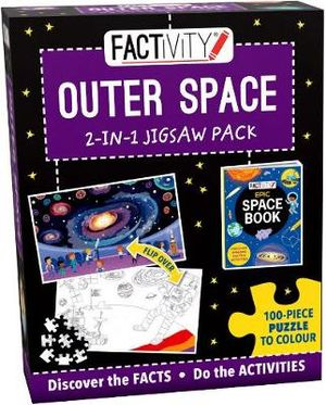 Factivity Outer Space - 2-in-1 Jigsaw Pack