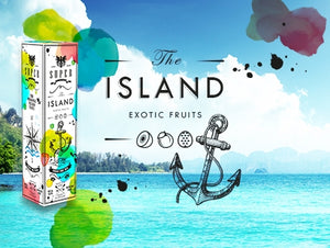 SuperFlavor THE ISLAND 50ml Mix&vape
