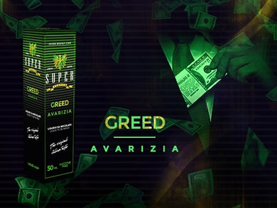 SuperFlavor GREED 50ml Mix&vape