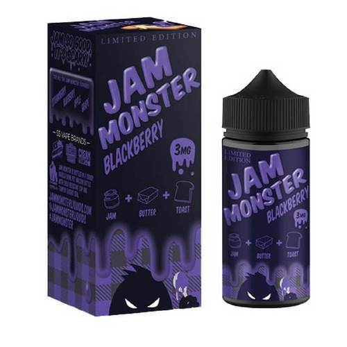 Jam Monster Blackberry liquid