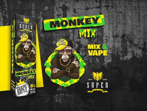 SuperFlavor MONKEY ft. SVAPOBATTLE 50ml Mix&vape