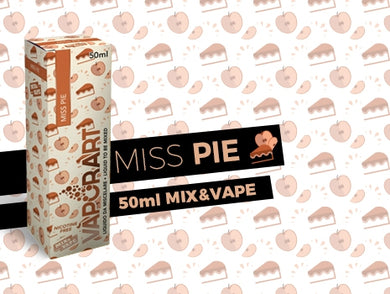 Vaporart MISS PIE 50ml Mix&vape
