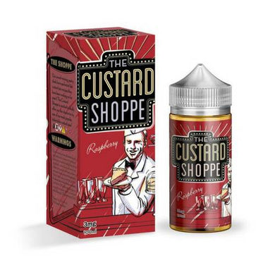 The Custard Shoppe Raspberry Jam Monster liquid