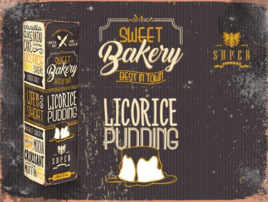 SuperFlavor LICORICE PUDDING 50ml Mix&vape