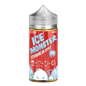 Ice Monster StrawMelon Apple Jam Monster liquid