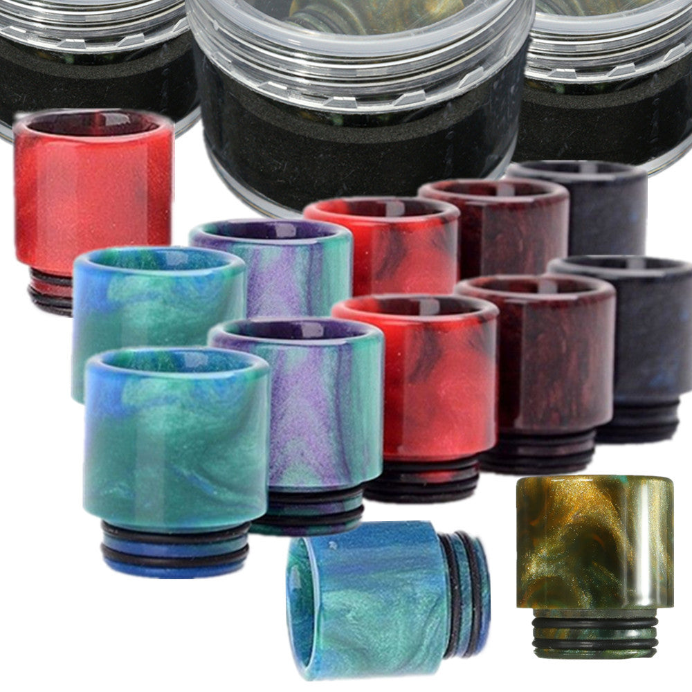 Resin drip tip for SMOK TFV8 Cloud Beast Atomizer/Kennydy/Goon RDA W 1/2 inch