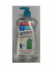Hands sanitizer germsX