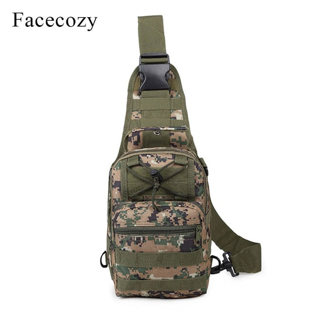 Facecozy 2019 Outdoor Sports Military Bag Climbing Backpack Shoulder Tactical Hiking Camping Hunting Daypack Fishing Backpack