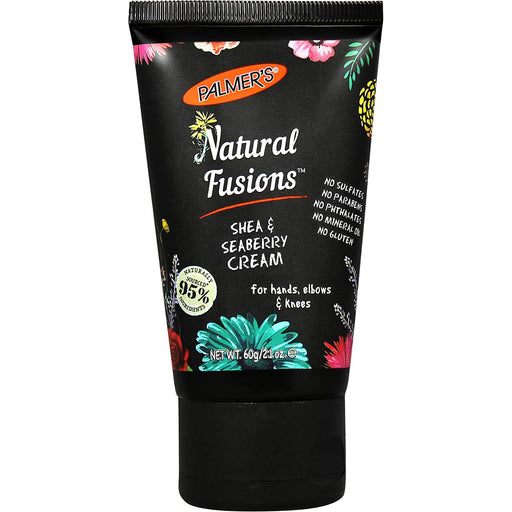 2.1 oz Natural Fusions Shea & Seaberry Body Cream For Unisex.