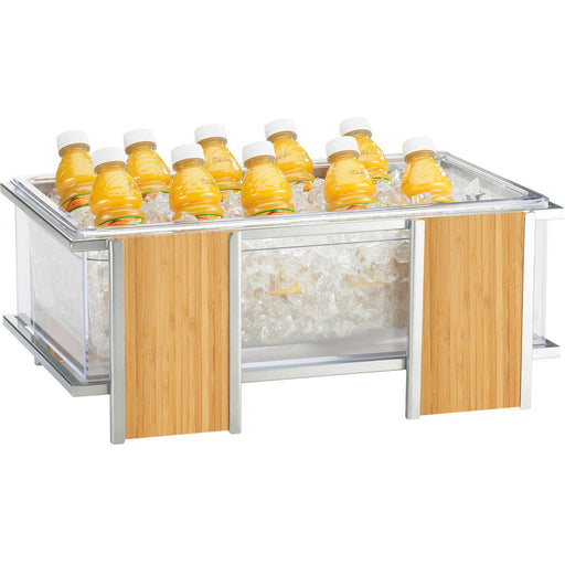 Handwoven Rectangular Basket, Brown, 9 x 6 x 2.5""