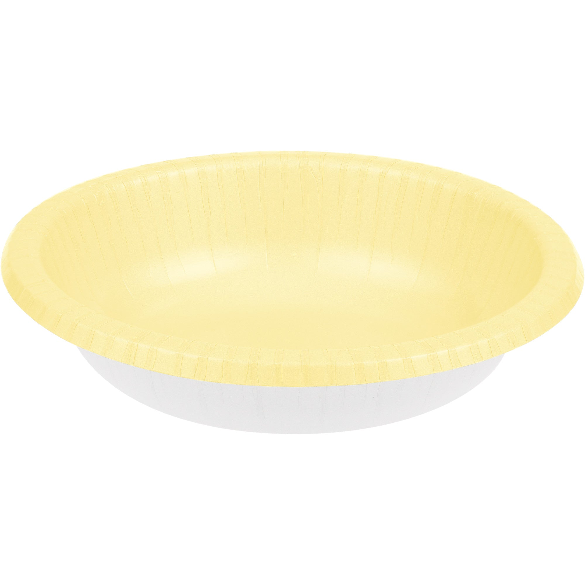Touch of Color 20 oz Paper Bowl  Ivory