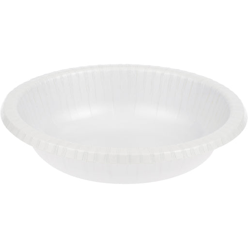 Touch of Color 20 oz Paper Bowl  White