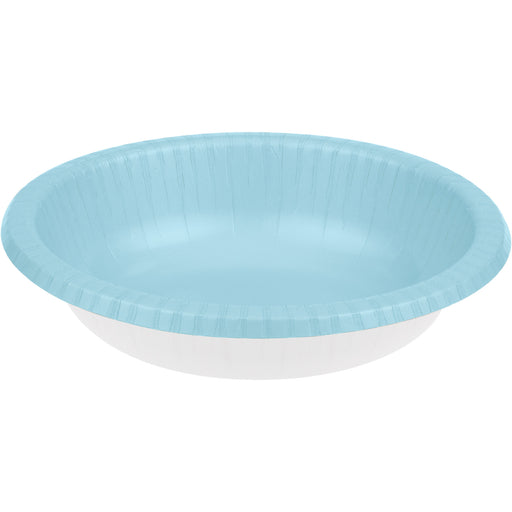 Touch of Color 20 oz Paper Bowl  Pastel Blue