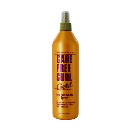 Care Free Curlgoldhair N Scalp Spray, 16 Oz.
