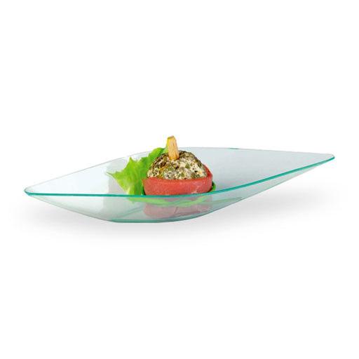 5 x 2 x 1 ELENI Transparent Green Dishes/Case of 1152