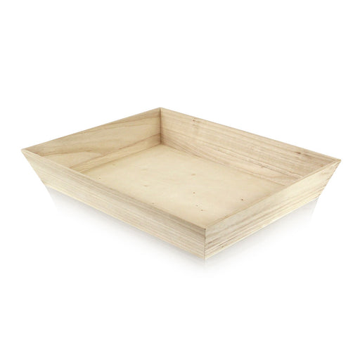 "15 3/8"" Sq. x 2 7/8""H ""Noah4040H"" Heavy Duty Wooden Tray"