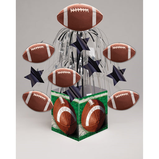 Tailgate Rush Mini Cascade Centerpiece with Base