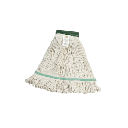 Janico Large White Blended Cotton/Yarn Looped End Mop Head