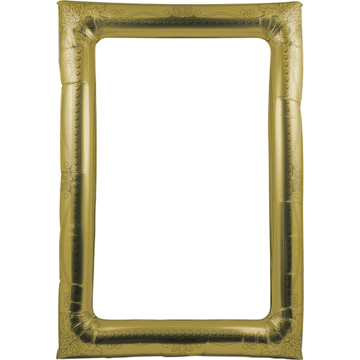 Gold Antique Balloon Photo Frame, Case of 6