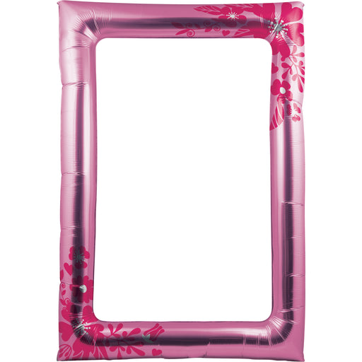 Flower Balloon Photo Frame, Case of 6