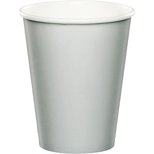 Shimmering Silver 9 Oz. Paper Cup