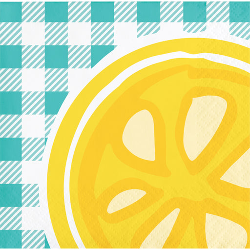 Picnic Lemonade Beverage Napkins, Case of 192