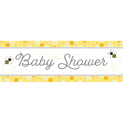 "Bumblebee Baby 60""W x 20""H Giant Banners"