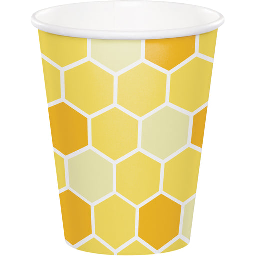 "Bumblebee Baby 9 Oz. 3 1/8"" Dia. X 3 3/4""H Paper Cups"