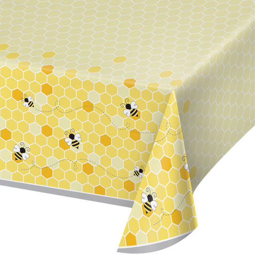 "Bumblebee Baby 102"" x 54"" All Over Print Tablecovers"