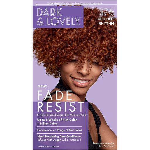 Dark And Lovely Hair Color Kit Red Hot Rhythm